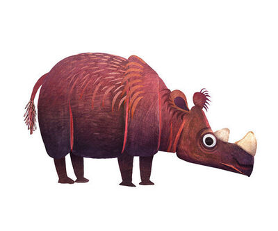 Brendan Wenzel, 'Sumatran Rhinoceros '