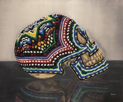 Mariana Flores Quijano, 'Maraica       TECNICA oleo texturizado sobre tela, texturized oil on canvas        DIMENSIONES 47 X 39 in', 2017