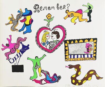 Niki de Saint Phalle, 'Remember?', 1969