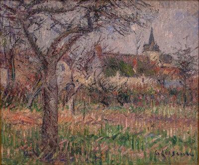 Gustave Loiseau, 'Le Close de Monsieur Janson, Le Vaudreuil, Eure', 1926