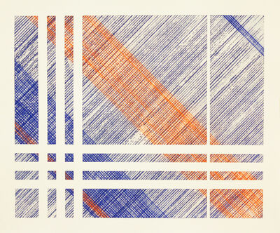 Ryan Carrington, 'Chalk Line Drawing #19', 2019