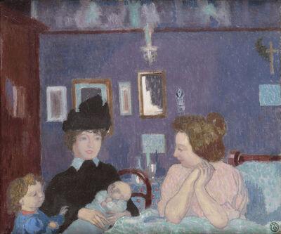 Maurice Denis, 'Visite dans la chambre violette', 1899
