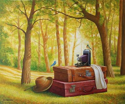 Avi Belaish, 'Luggage in the Forest ', 2017