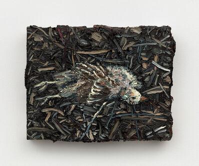 Allison Schulnik, 'Dead Finch', 2019