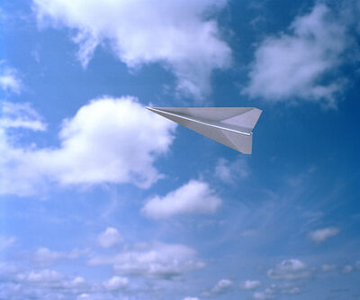 Adam Ekberg, 'Paper Airplane', 2014