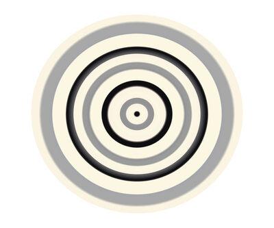 Ruth Adler, 'Black and Grey Circle'