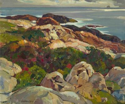 William Lester Stevens, 'Rocky Shore', 20th Century