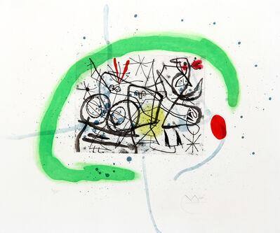Joan Miró, 'Preparatifs d'Oiseau IV (Dupin 368)', 1963