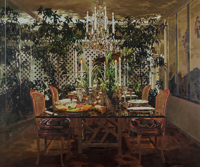 Jack Mendenhall, 'Dining Room with Arbor', 1983