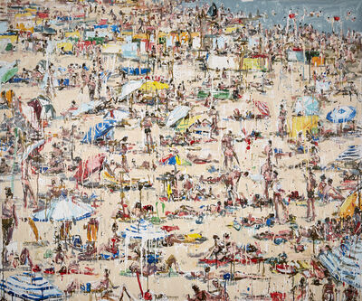 Chrissy Angliker, 'Umbrella Beach', 2017