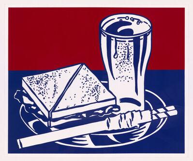 Roy Lichtenstein, 'Sandwich and Soda from X + X (Ten Works by Ten Painters)', 1964