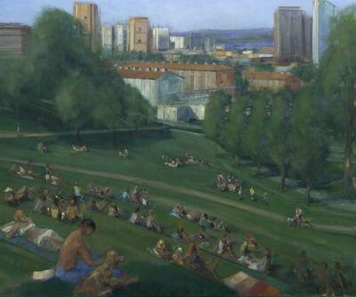 Simon Nicholas, 'Park I', 2021