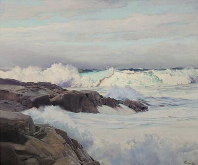 Frederick Judd Waugh, 'Seascape', 1900