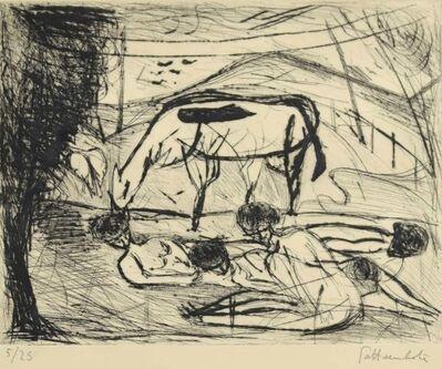 Nazareno Gattamenata, 'The Rest', Late 20th Century