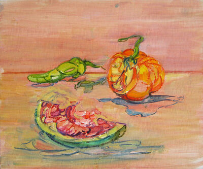 Anne Dunn, 'Tomato, Melon, and Pepper', 2003