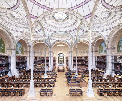 Candida Höfer, 'La Salle Labrouste – La Bibliothèque de l'INHA Paris II 2017', 2017