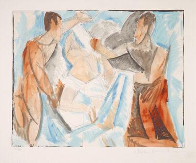Pablo Picasso, 'Etude de Personnages', 1973