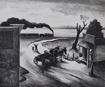 Thomas Hart Benton, 'Edge of Town', 1938