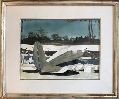 Julio Larraz, 'Night Courrier', 1985