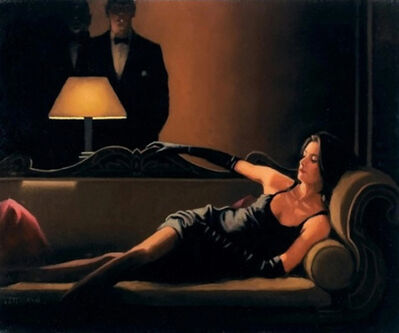 Jack Vettriano, 'Along Came a Spider (Signed Limited Edition Print)', 2004