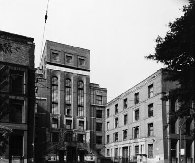Gabriele Basilico, 'Camera Confederale del Lavoro, Milano', years 1980