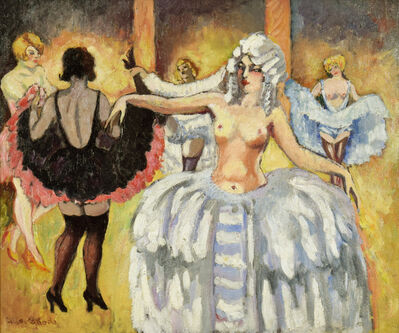 Ludovic-Rodo Pissarro, 'Cabaret Dancers ', ca. 1906