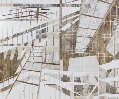 Daniel Senise, 'Skylight', 2017