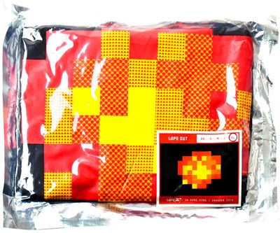 Invader, 'WIPE OUT (Black Extra Large T-shirt)', 2015