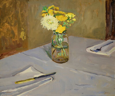 Kelly Carmody, 'Table Setting with Flowers', 2020
