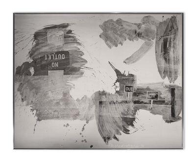 Robert Rauschenberg, 'Driveway Detour (Night Shade)', 1991