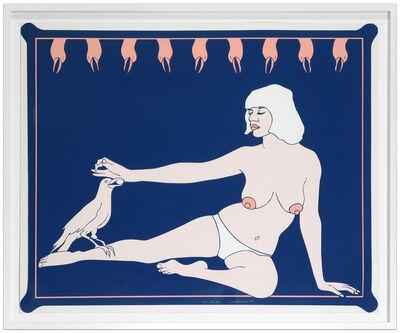 John Wesley, 'Bird Lady (from 11 Pop Artists II)', 1965