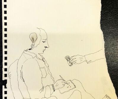 Mindy Alper, 'Untitled(offering meds)', n.d.