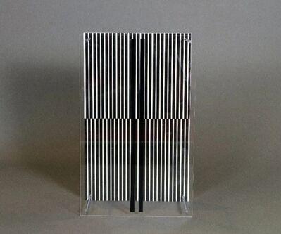 Jesús Rafael Soto, 'Paralelas Vibrantes, Series Sintesis', 1979