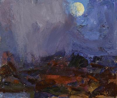 Allan Macdonald, 'Moon Glimpse, Way Home', ca. 2019