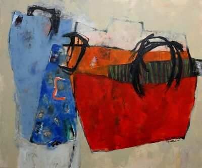 Ala' Hamameh, 'A Suitcase Memory 3', 2017