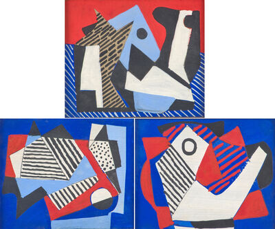 Vaclav Vytlacil, 'Untitled (Abstraction Compositions)', 1938