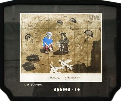 Sandra Ramos, 'Panda Atec. war games', 2002