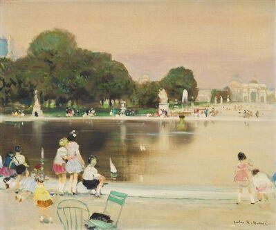 Jules René Hervé, 'Jardin des Tuileries'