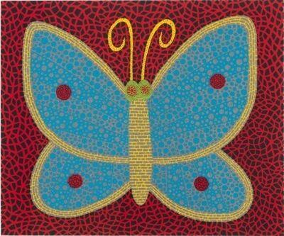 Yayoi Kusama, 'Papillon (Butterfly)', 2000