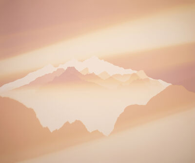 Vanessa Marsh, 'Mt. Jefferson 2, Sunrise from Scout Lake, Willamette National Forest, OR', 2020