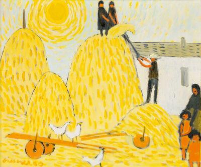Gerhild Diesner, 'Hay Harvest in the Provence', 1960