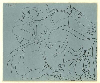 Pablo Picasso, 'La Pique Cassée', 1962