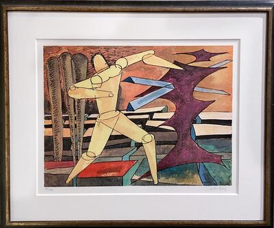 Man Ray, 'l'Homme Infini (Anselmino 89)', 1972