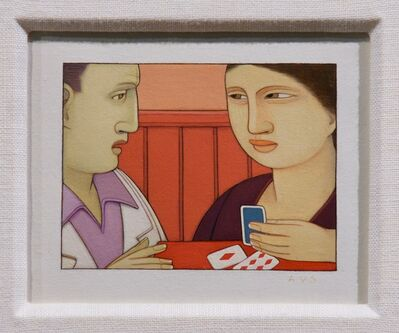 Andrew Stevovich, 'Card Reading', 1991