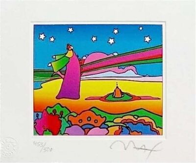 Peter Max, 'Two Cosmic Sages Version I', 2001