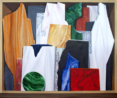 Gloria Martín Montaño, 'Cajón de mármoles', 2020