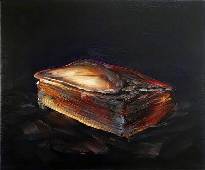Cornelius Völker, 'Book/Ash', 2018