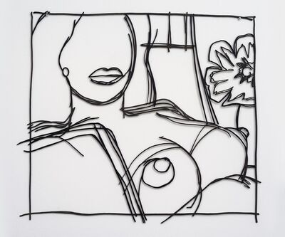 Tom Wesselmann, 'From Nude Painting Print (Gray)', 1979