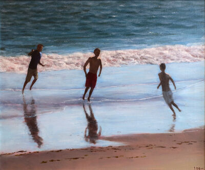 Joseph P. Keiffer, 'Playing in the Surf', 2018