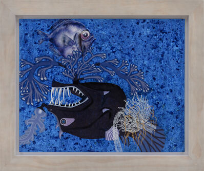 Yang Mao-Lin, 'Wanderers of the Abyssal Darkness.Bearded Angler and Bigeye S1807', 2018